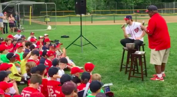 Bryce Harper Gets Really Real With The Kids