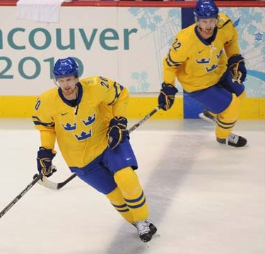 Sedin Twins Join Tre Kronor at World Championships
