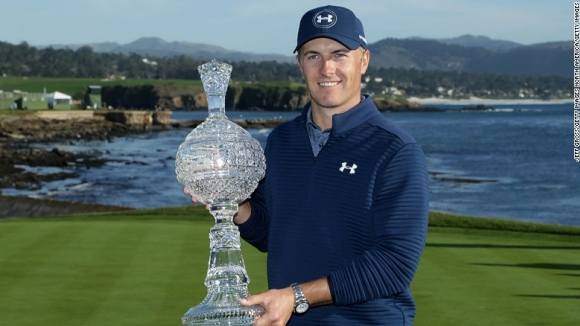 Spieth Takes Pebble Beach for 9th Career Triumph