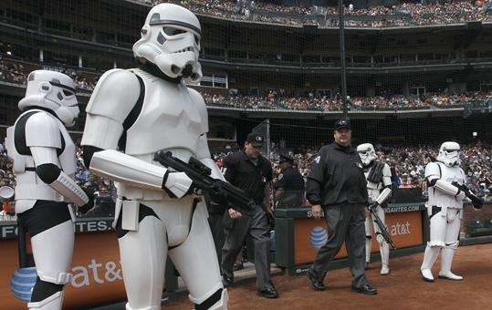 Ellsbury the Storm Trooper