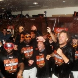 Giant Victory enables Champs to celebrate at home!