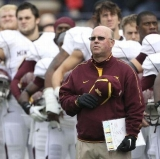 Coach Jerry Kill of the Minnesota Golden Gophers