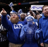 NCAA Referee Being Harassed by Deranged Kentucky Fans