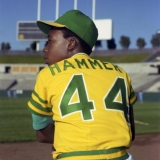Unfortunately for the A's, this is not Hank Aaron's son.