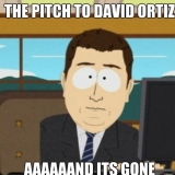 How pitching to Big Papi goes