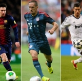 Messi, Ribéro, and Ronaldo