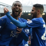 Wes Morgan just popped the most important goal of his career.