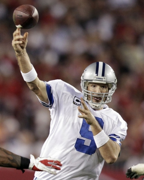 Former Texans Lineman Says Romo Stealing from the Cowboys