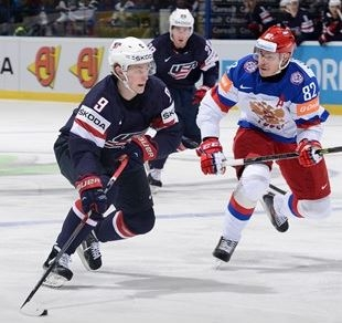 USA Drops Russia in the Other Hockey Tournament