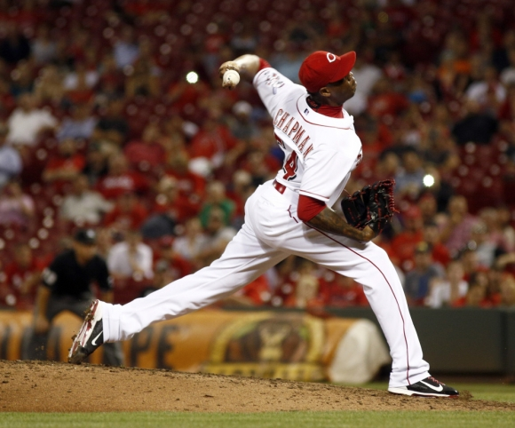 Aroldis Chapman's Gas Blew Up MLB.com