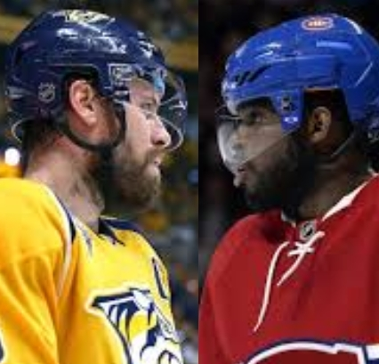 NHL Blockbuster: PK Subban, Shea Weber Trade Sweaters