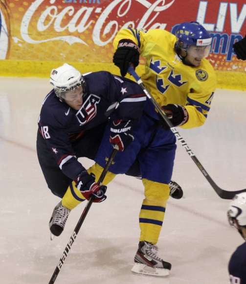 WJC Championship 2013: Sweden vs USA