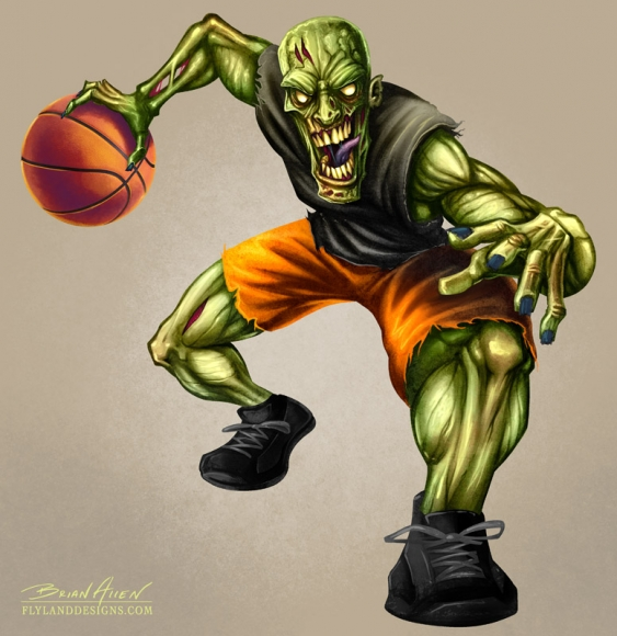 The NBA Un-Drafted: Hoops Zombies in Limbo